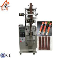 Automated Plum Candy Packing Machine With Tetrahedron Bagging Machine