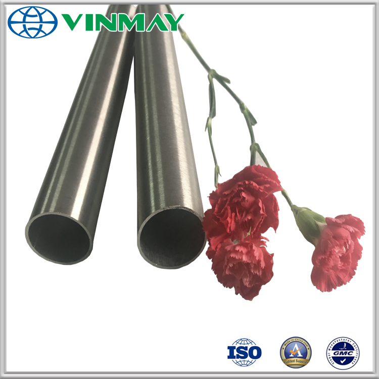 304 Satin Hairline Stainless Steel Pipe
