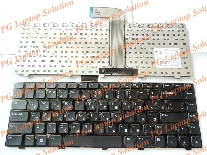 Русская клавиатура для Dell Inspiron 14R N4110 M4110 N4050 M4040 N5050 M5050 M5040 N5040 XPS15 X501L l502 X502L P17S P18 RU черный