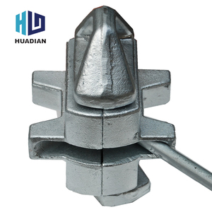 Factory price wholesale hot dipped galvanized surface screw type container corner twist locks