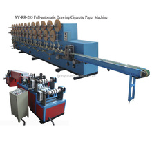 Industrial automatic cigarette paper rolling machine
