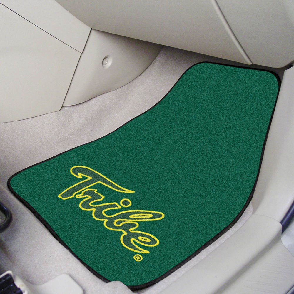 """Fanmats Sports Team Logo College of William & Mary 2-piece Carpeted Car Mats 18""""x27"""""""