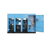 Industry Factory use oil free dry air compressor oil less screw air compressor