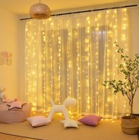Twinkle Star 300 LED Window Curtain String Holiday Light for Wedding Party Home Garden Bedroom Outdoor Indoor decoration