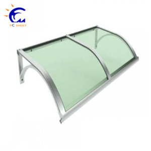 Garden sun shade and dust sheet solid aluminum frame awnings components