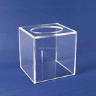 durable antique eco-friendly acrylic lucky draw box