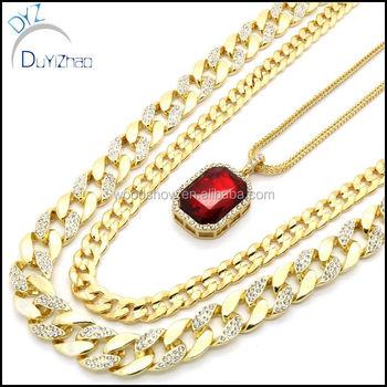 Latest mens gold ruby pendant necklace jewelry set buy diamond latest mens gold ruby pendant necklace jewelry set aloadofball Gallery