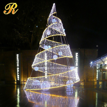 Decorative Christmas Street Lighting Artificial Tree Without Leaves