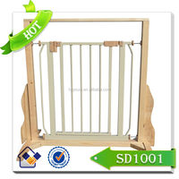 New wooden baby safety gate/baby furniture/bedroom baby safety product