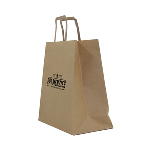2015 New Products Custom Tea Kraft Paper Bag Lined Foil With Printing