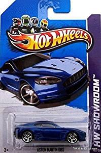 Hot Wheels 2013 HW Showroom Aston Martin DBS (blue) 153/250