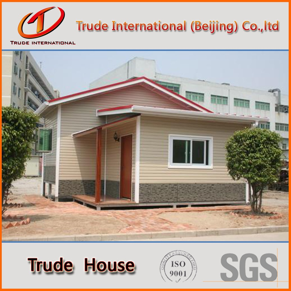 EPS cement sandwich panel modular house for permanent residence