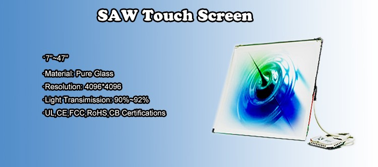 "17 inch (7""-47"") touch screen panel"