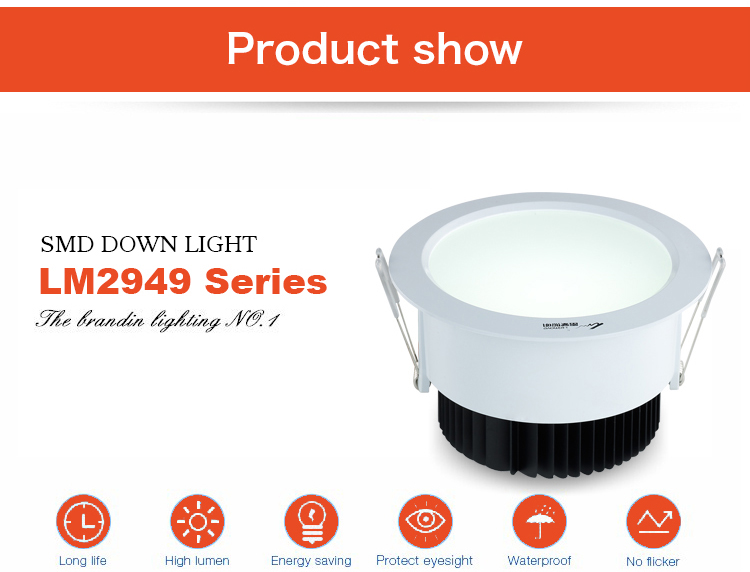 Leimove energy-saving dimmable led downlights surface mounted for wholesale-4