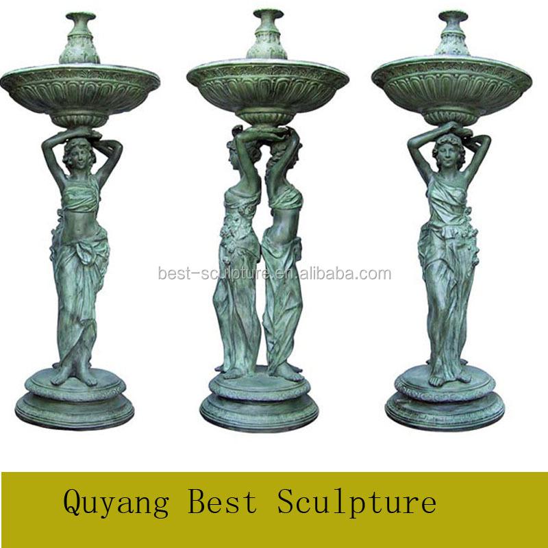Bronze Fountain Garden Art Sculpture, Bronze Fountain Garden Art Sculpture  Suppliers And Manufacturers At Alibaba.com