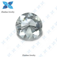 Good quality factory price round brilliant cut BE10 Glass stone