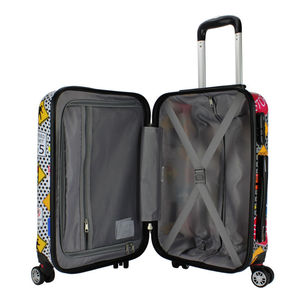 Hardshell trolley bag China factory direct sale print trolley case suitcase luggage