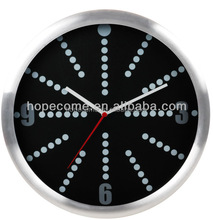 Custom 12 inch Aluminum Wall Clock