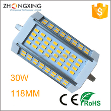 samsung smd5630 3000lm 30w r7s led lamp,30w 118mm r7s led,30w r7s led