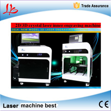 laser engraving machine LY 2D/3D special for inner crystal,working range 150*200*80 mm