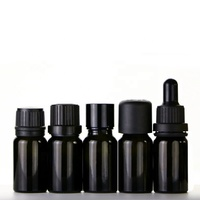 10ml 30 ml true black glass tincture dropper bottle e juice liquid medicine bottle