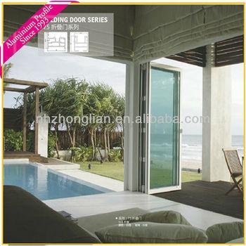 Wow!!aluminium Folding Door For Swimming Pool,Garage,Sun Room ...