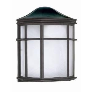 (USA Warehouse) Nuvo Lighting 60/539 Textured Black Single Light Ambient Lighting Outdoor Wall -/PT# HF983-1754427461