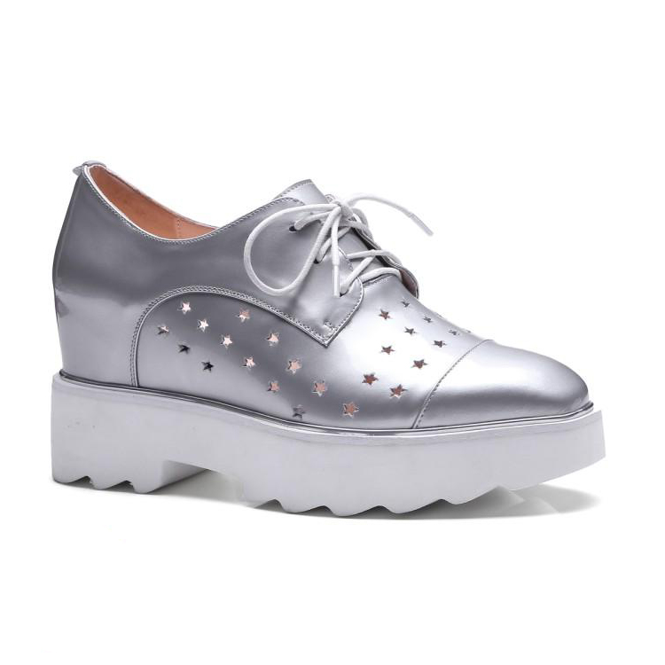 Genuine Leather Upper Material all match girls flat women casual shoes