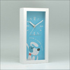 picture frame desk top child wood clock