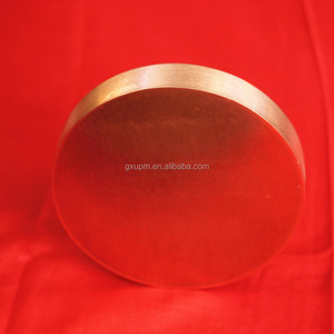ISO registered 99.99995% purity copper sputtering target with high quality and best price
