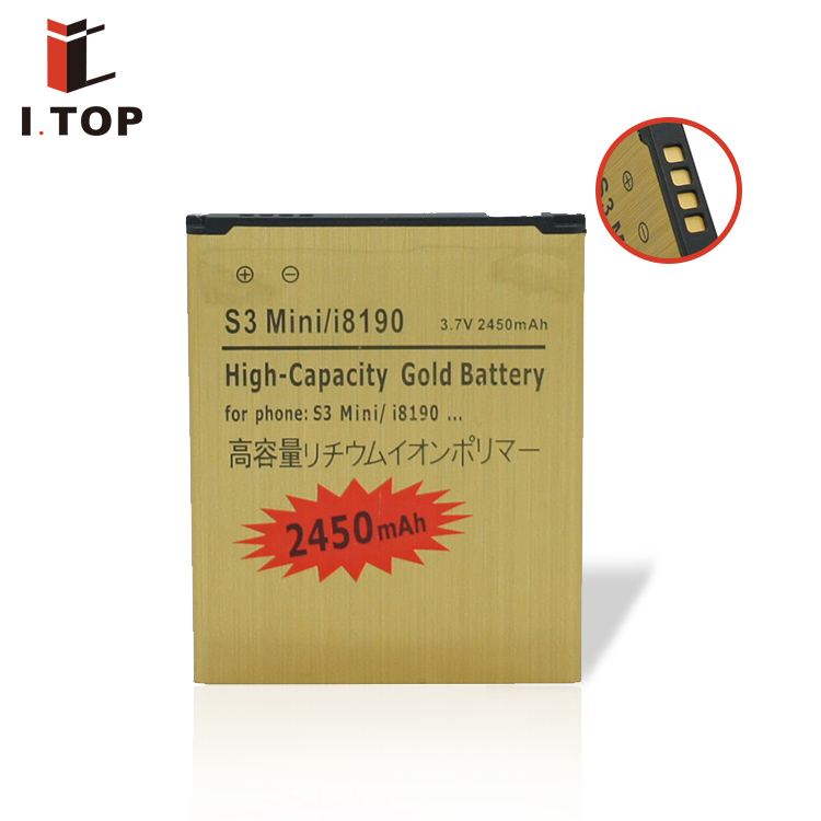 China Mobile phone battery for Samsung Galaxy S3 mini i8190 / ACE 2 i8160 cell phone battery high capacity