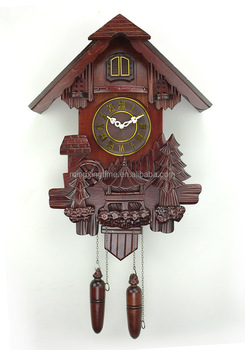 Antique Style Wooden Cuckoo Wall Clock Buy Talking Wall