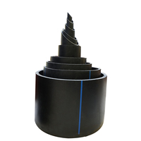 Pressure PN 25 outer diameter 110mm inner diameter 95mm thickness 7.5mm HDPE steel wire skeleton water supply pipe