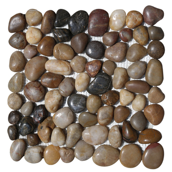 Hs Y03 River Rock Pebble Mosaic
