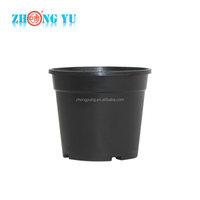 high quality wholesale used plastic nursery pot with side holes