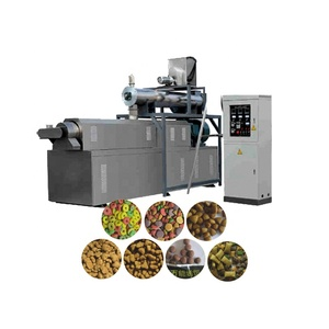 full production line dry dog food extrusion machine extruder machine dog food making machine to make dog food