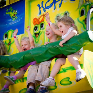 Business Opportunities Distributor Amusement Jumping Park Kids Equipment Frog Hopper Ride
