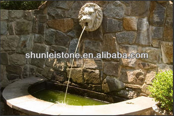 Lion Head Water Fountain Wall Artificial Waterfalls Product On