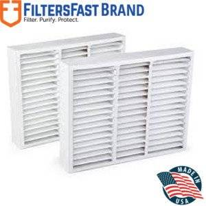 """FiltersFast Compatible Replacement for Honeywell FC100A1003 MERV 13 Comp. Filter 16"""" x 20"""" x 4-3/8"""" (Actual:Size: 15-7/8"""" x 19 7/8"""" x 4-3/8"""")"""