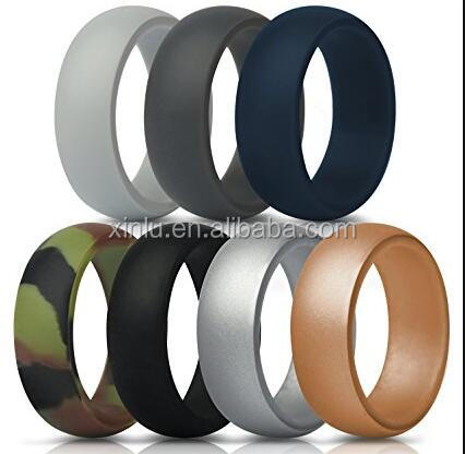 Wholesale Custom Design Mens Silicone Wedding Ring