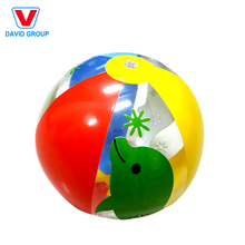 Standard Size Custom PVC Inflatable Beach Ball with Logo Printing