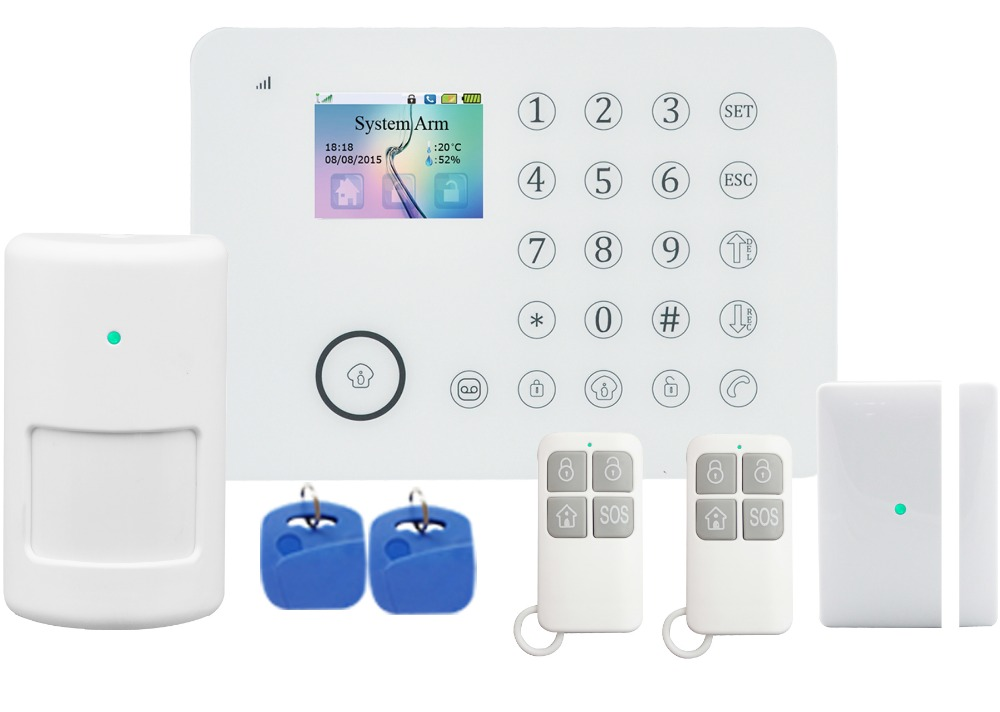 FDL-911 TFT Color Screen alarm, Pstn/Wifi Wireless Intruder Alarm,sms auto dialer alarm