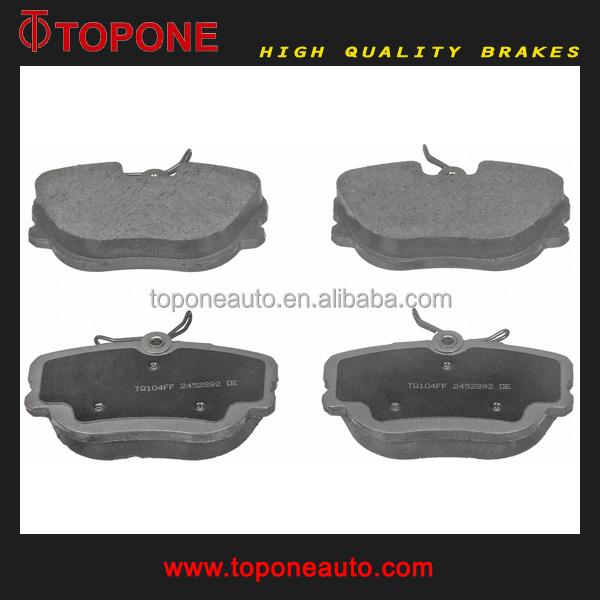 For MERCEDES BENZ 190E Brake Pad D487 0014208120 Friction Material Manufacturer in China