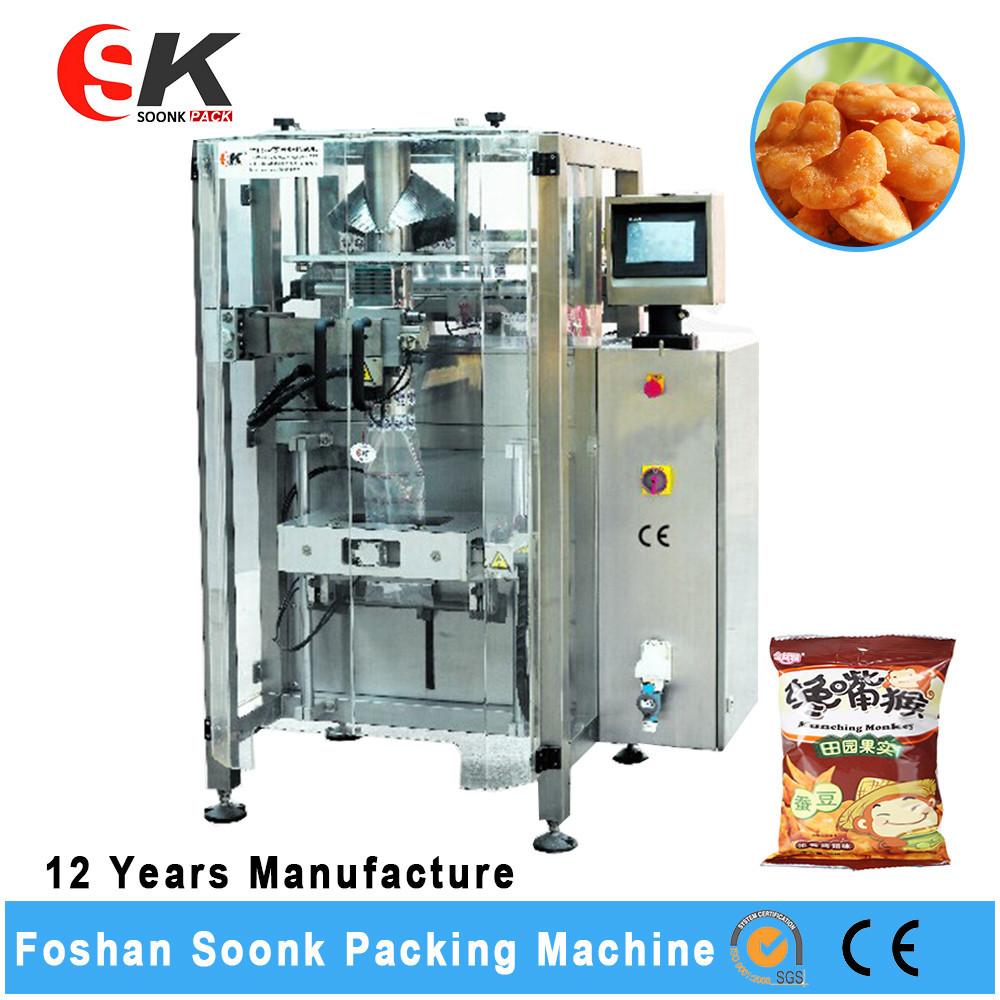 China Supplier Soonke Granule Namkeen Pouch Packing Machine