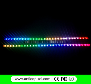 AC5V addressable 60pixel/m 60LED ws2812 WS2812B LED Rigid bar