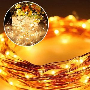 Black fairy light flexible customized mini led copper wire string lights