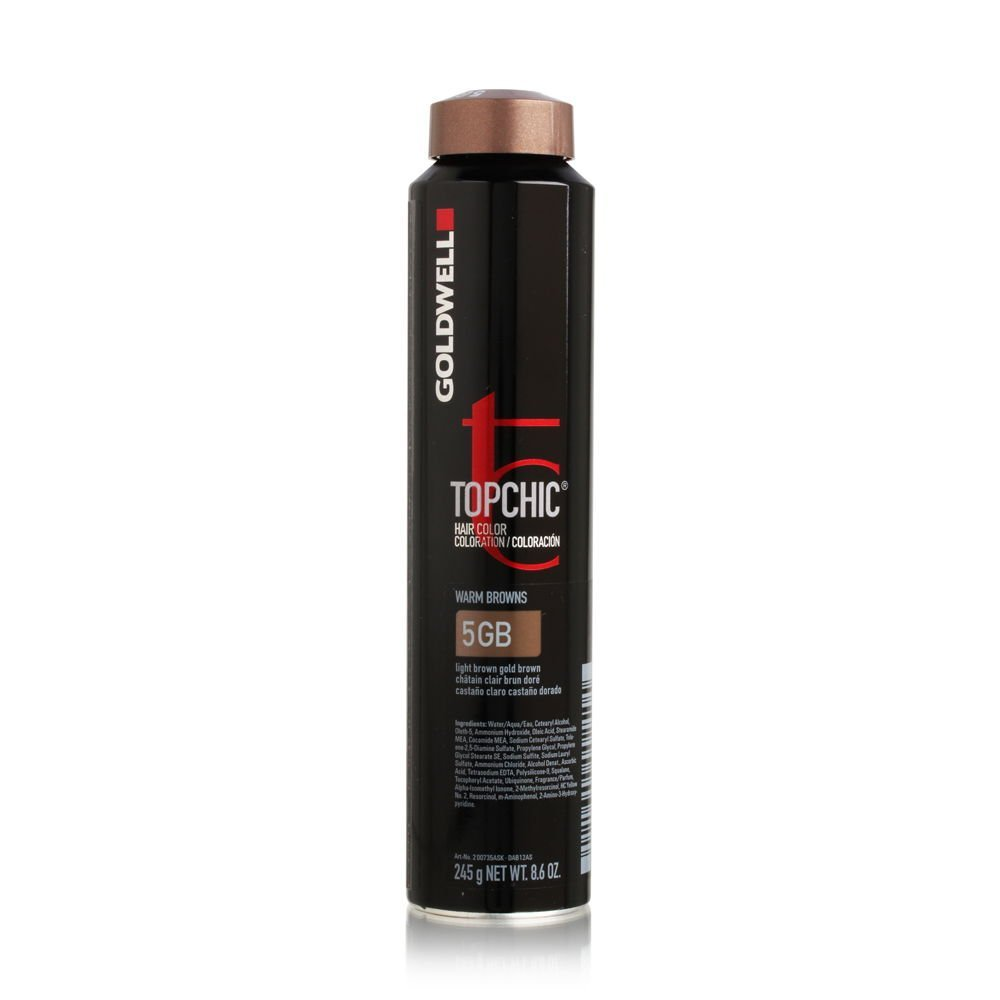 Buy Goldwell 5gb Light Brown Gold Brown Topchic Permanent Hair Color