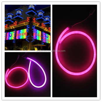 12v Flex Neon Rope Light For Building