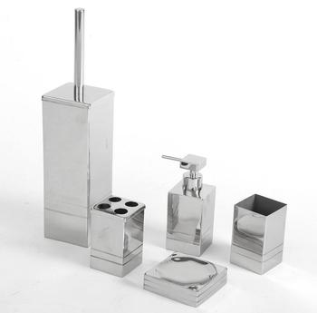 Decorative square bath accessories with 2 line buy for Fancy bathroom accessories sets
