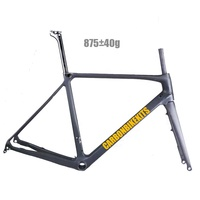 Carbonbikekits lightweight toray T800 full carbon road disc brake frame cyclocross frame BB86.5 CFM092